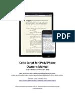 Celtx Script Owners Manual