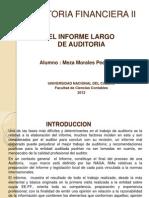 Presentación de Informe Largo de Auditoría (PMeza)