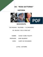 Dictaduras en Sudamerica