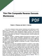 5. Thin Film Composite Reverse Osmosis Membranes