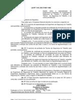 _Lei  7410-85, Engenheiro e Técnico Segurança Trabalho