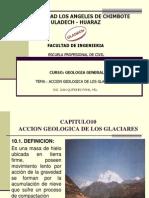 Accion Geologica de Los Glaciares