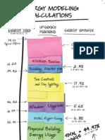 Energy Modeling Calculation Board