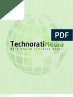 Technorati Media 2013