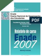 relatório enade 2007