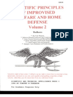 Scientific Principles of Improvised Warfare and Home Defense - Vol II