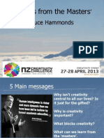 NZ Creativity Challenge - Bruce  Hammonds