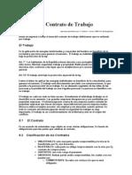 Contrato Laboral 1999