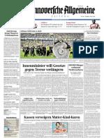 Hannoversche Allgemeine Zeitung 20110502