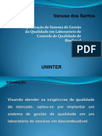 Modelo Slide Banca Vanusa