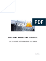 Modelling Tutorial-how to brings models into cities XL 3dsmax