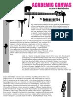 Academic Plan Tomas Uribe