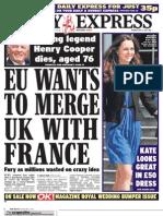 Daily Express Monday May 2 2011