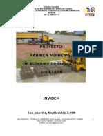 Proyecto Bloquera Manual