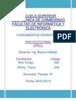 ESCUELA SUPERIOR POLITÉCNICA DE CHIMBORAZO FACULTAD DE INFORMÁTICA Y ELECTRÓNICA