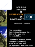 Inspiring Thoughts of Swami Vivekananda on Powers of the Mind -