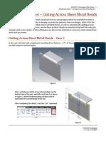 Autodesk Inventor - Cut Across Bends