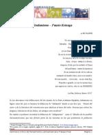 Fausto Reinaga y El Indianismo