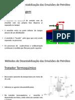 Métodos de Desestabilização das Emulsões de Petróleo - Kaio Magno Ferreira de Souza