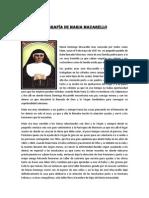 BIOGRAFÍA DE MARIA MAZARELLO