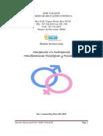 Andropausia Menopausia Manifestaciones Fisiologias y Psicologicas