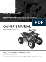 X300 - Extreme 300cc ATV Owners Manual