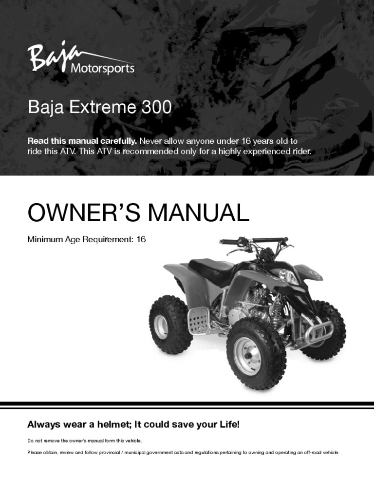 x300 extreme 300cc atv owners manual hypothermia clutch rh pt scribd com honda atv owner manual honda atv owner manual