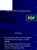 Vertical Pitch Organization