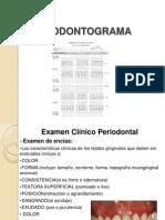 Periodontograma b