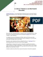 Vietnam Travel News - Russian Choose Vietnam an ideal tourist attraction