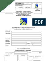Consejo de La Microempresa - Formulario Pymes