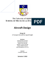 A Transport Aircraft for Liquid Freight