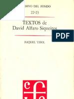 David Alfaro Siqueiros_Textos sobre Integración plástica