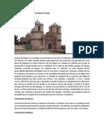 Apuntes monográficos de Santiago de Pupuja