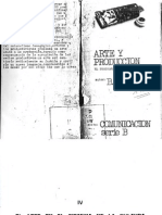 Manifiesto Del Productivismo_B. ARVATOV