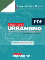 Mae Stria Urbanism o