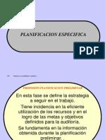 PLANIFICACION ESPECIFICA