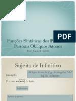 Func Sintaticas Pronomes Obliquos