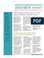 Sustainable Voice Newsletter - April 2009