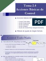 Acciones Basicas de Control