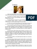 Vida y obra de García Márquez
