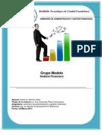 Analisis Financiero Grupo Modelo