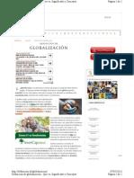 Definicion.de Globalizacion