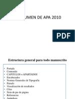 Resumen de Apa 2010
