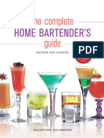 The Complete Home Bartenders Guide - Salvatore Calabrese