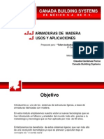6. DISEÑO Y APLICACION DE ARMADURAS LIGERAS CON MADERA
