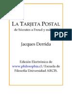 La Tarjeta Postal Derrida