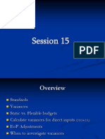Session 15-Flexible Budget Variances