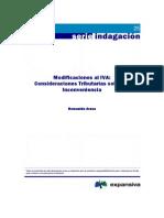 Modificaciones Al IVA Consideraciones Tributarias