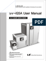 LS Inverter iG5A Manual